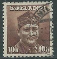 1945 CECOSLOVACCHIA USATO SOLDATI 10 H - RC22-5 - Usati