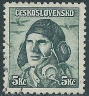 1945 CECOSLOVACCHIA USATO SOLDATI 50 H - RC22-5 - Usati
