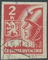 1945 CECOSLOVACCHIA USATO SOLDATO SOVIETICO 2 KR - RC20-8 - Usati
