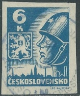 1945 CECOSLOVACCHIA USATO SOLDATO SOVIETICO 6 KR - RC20-8 - Usati