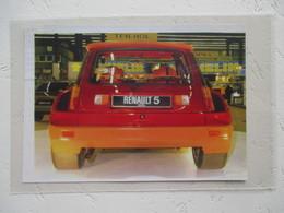 Nouvelle Renault 5 Tubo  -  Coupure De Presse De 1978 - Voitures