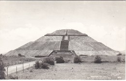 POSTAL DE MEXICO DE LA PIRAMIDE DEL SOL EN SAN JUAN DE TEOTIHUACAN - Messico