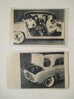 Nouvelle Renault Dauphine - Vie Quotidienne - 2  Coupures De Presse De 1956 - Voitures