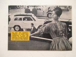 Salon Automobile D'Helsinki  - Coupure  De Presse De 1960 - Voitures