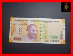 INDIA 200 Rupees 2017 P. 113 A  UNC - India