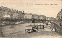 44 - NANTES - QUAIS BRANCAS, FLESSELLES ET DUGUAY-TROUIN - Nantes