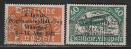 ALLEMAGNE - EMPIRE - PA N°1/2 - Briefmarken Händler Tagung : München 7/14 Mai 1923 - Sin Clasificación