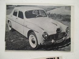 "Voiture   Argentine KAISER ""Bergantin""  Motorisation Alfa Romeo  - Coupure  De Presse De 1960 - Voitures"