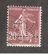 Perforé/perfin/lochung France No 139 E.K. Eastmann Kodak - Perforés
