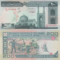 Iran / 200 Rials / 2004 / P-136(e) / UNC - Iran