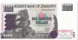 ZIMBABWE=1995     100  DOLLARS    P-9a      UNC - Zimbabwe