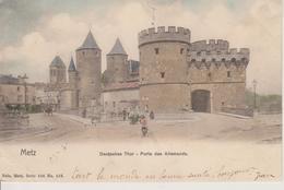 57 - METZ - PORTE DES ALLEMANDS - NELS SERIE 104 N° 132 - Metz