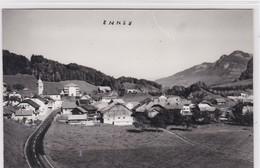 Enney,  Entrée Route Cantonale Côté Sud. - FR Fribourg