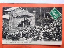 CPA (88) Gérardmer.  Le Théâtre Populaire.   (O+1.205) - Gerardmer