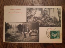 CPA - LUNEVILLE GARNISON - En Reconnaissance Dans Les Vosges - Le Bivouac - Multivues - Luneville
