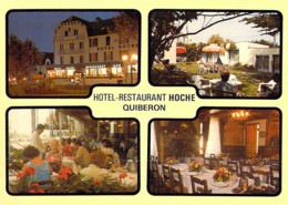 "56 - QUIBERON :  Hotel Restaurant "" HOCHE "" ( M. Mme QUELVEN ) CPM Grand Format - Morbihan ( Bretagne ) - Quiberon"