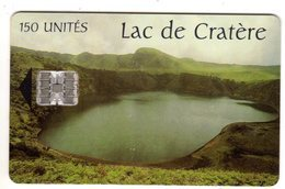 CAMEROUN REF MV CARDS CAM-41 150 U LAC DE CRATERE Verso CAMTEL - Camerún