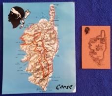 2 Cartes Corse  (photos Recto-verso) - Non Classés