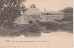 57 - METZ - L'ENTREE DE LA SEILLE EN VILLE - NELS SERIE 104 N° 75 - Metz