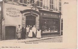 57 - METZ - RESTAURANT MOITRIER - NELS SERIE 104 N° 120 / VOIR ETAT - Metz