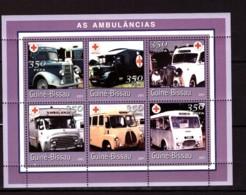 Guinea-Bissau, 2001. [gb0118] Ambulance Cars - Cars