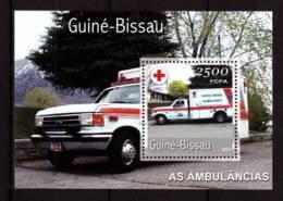 Guinea-Bissau, 2001. [gb0118bl] Ambulance Cars - Cars