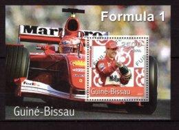 Guinea-Bissau, 2001. [gb0130bl] Formula-1 - Cars