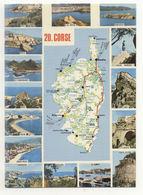 20 – DIVERS : Carte Du Département (d'après Carte Michelin N° 989) - Zonder Classificatie