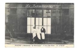 "Nantes - Restaurant "" Le Bernicopia "" - 6 Rue Léon Blum - Tel. 47.81.65 - 498 - Nantes"