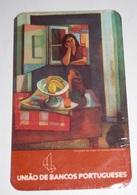 PETIT  CALENDRIER DE LE BANQUE UNIAO DE BANCOS PORTUGUESES  DE PORTUGAL  - 1982 - Calendriers