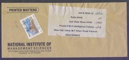 400th Anniversary Of Sri Guru Arjun Dev Jee, Postal History Cover From PAKISTAN, Used - Pakistan