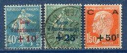 France - N° 246 Et 248 - Oblitéré Et Neuf Avec Charnière - 1927 - Francia