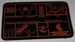PETIT  CALENDRIER DE LE BANQUE  UNIAO DE BANCOS PORTUGUESES - 1983 - Calendriers