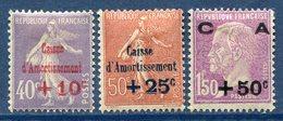France - N° 249 Et 251 - Neuf Avec Charnière - 1928 - Francia