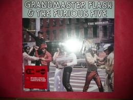 LP N°3118 - GRANDMASTER FLASH & THE FURIOUS FIVE - THE MESSAGE - 180 GR. HIP HOP FUNK SOUL RAP ...***** - Rap & Hip Hop