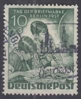 BERLIN  80, Gestempelt, Tag Der Briefmarke 1951 - Gebraucht