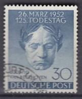 BERLIN  87, Gestempelt, Ludwig Van Beethoven 1952 - Gebraucht