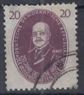 DDR  268, Gestempelt, Walther Nernst 1950 - DDR