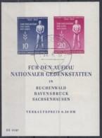 DDR  Block 11, Gestempelt, Tag Der Befreiung Vom Faschismus 1955 - Blocks & Kleinbögen