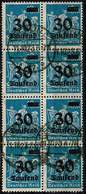 DR 1923, Michel # 284 O Achterblock - Deutschland