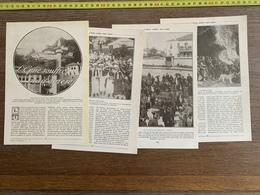 1914 JST L EPIRE SOUFFRE MAIS ESPERE ARGYROCASTRO CORITZA GREC ET TURC - Vieux Papiers