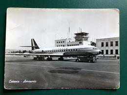 CATANIA AEROPORTO   1963  AEREO - Catania