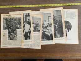 1914 JST LES EXILES VOLONTAIRES JACQUES BERTILLON ELLIS ISLAND NEW YORK - Vieux Papiers