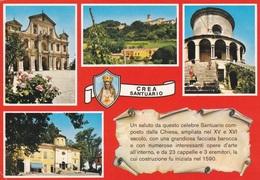 (A071) - SERRALUNGA DI CREA (Alessandria) - Il Santuario, Multivedute - Alessandria