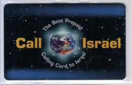 Top Collection - Call Israel - 100 Frs - Rare Carte Prépayée à Code De France - Voir Scans - France