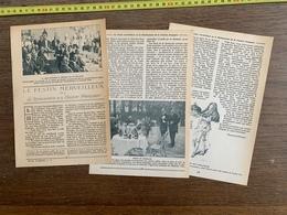 1914 JST LE FESTIN MERVEILLEUX RENAISSANCE DE LA CUISINE FRANCAISE MAITRES QUEUX - Vieux Papiers