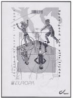 Europa / België 2015 Zwart-Wit Blaadje Van 4517/18** (Blok 226) Speelgoed / Jouets - Black-and-white Panes