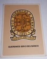 PETIT  CALENDRIER DE LE BANQUE  FONSECA & BURNAY  - 1983 - Calendriers