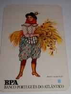PETIT  CALENDRIER DE LE BANQUE PORTUGUES DO ATLANTICO  - 1983 - Calendriers