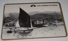PETIT  CALENDRIER DE LE BANQUE CAIXA ECONOMICA DO FUNCHAL - 1987 - Calendriers
